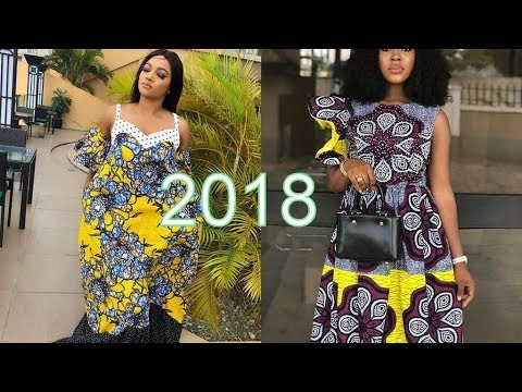 Ankara Styles 2018 for the Beautiful Ladies in African