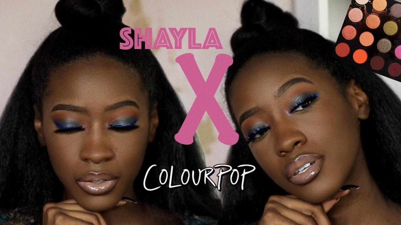 Makeupshayla X Colourpop Perception Pressed Powder Shadow Palette