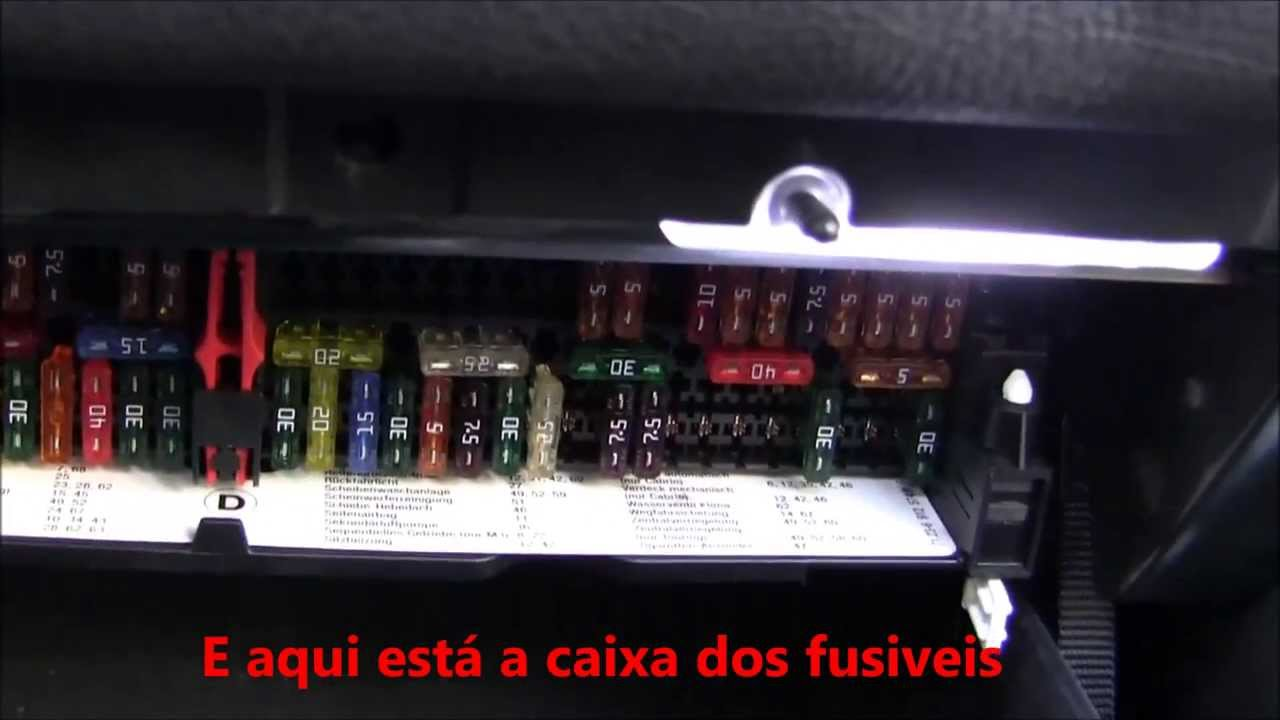 bmw e46 fuse box head caixa dos fusiveis bmw e46 / fuse box bmw e46 - youtube