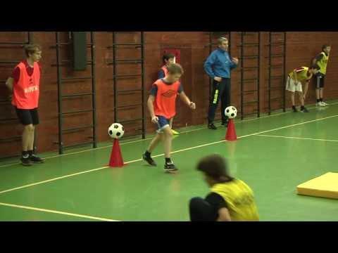 Футбольная Акробатика в Академии Строгино