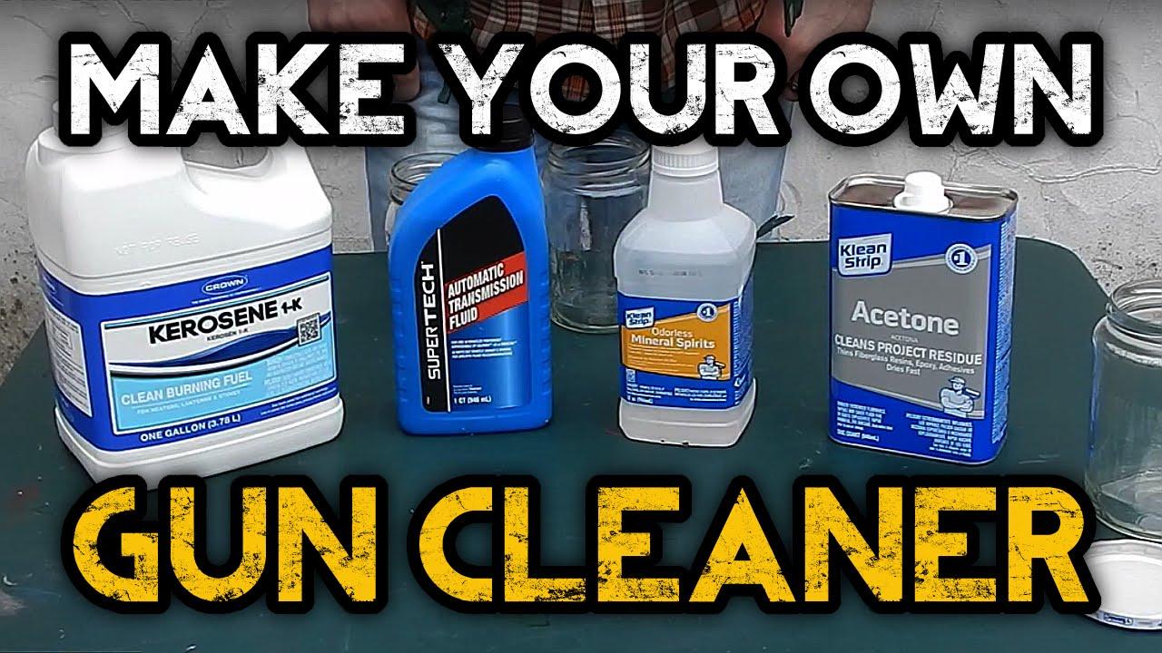 Make Your Own Gun Cleaner