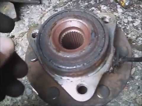 Nissan Armada SE `07 front wheel bearing noise, replace ...