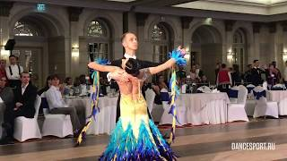 Igor Potovin - Yanina Yakubova, RUS, Final English Waltz
