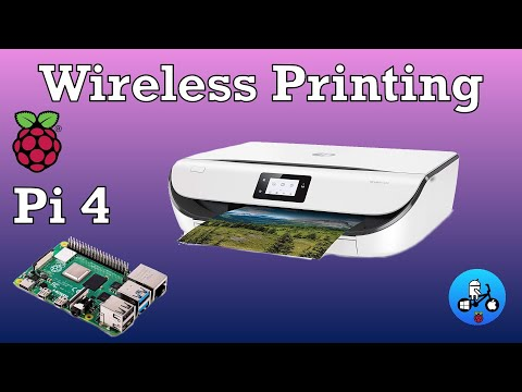 Wireless Printing On A Raspberry Pi 4. The Simple Way.