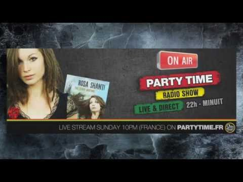 Rosa Shanti at Party Time Reggae Radio show - 11 SEPT 2016