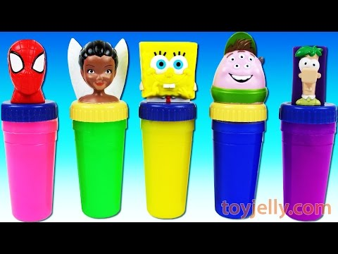 Thumbnail: Learn Colors Xylophone Finger Family Nursery Rhymes Spiderman Slime Surprise Eggs Play Doh Peppa Pig