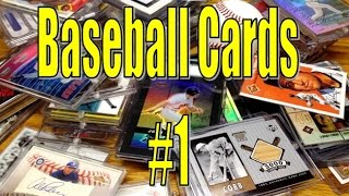 Baseball Cards ASMR - No 1