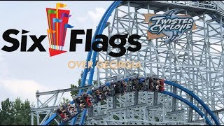 Six Flags Over Georgia Full Park Walkthrough with The Legend