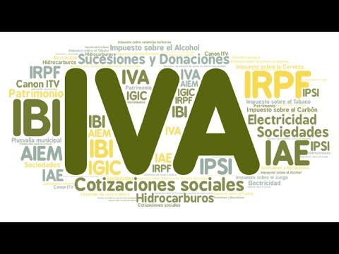 Todos los impuestos de España, uno a uno