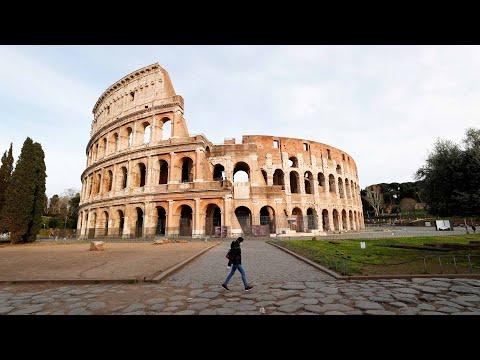Life in Rome under coronavirus lockdown