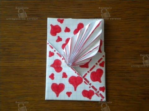 видео: Как сделать открытку из бумаги.