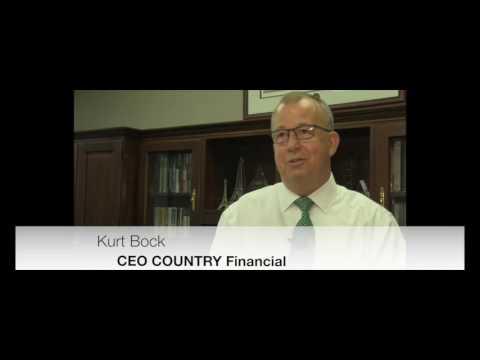 Kurt Bock, CEO COUNTRY Financial