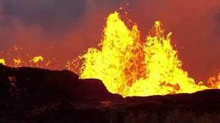 WOW! Huge Hawaii Kilauea Volcano Lava Eruption Mahalo Pele!