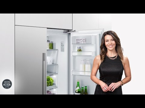 Sofie Explores The Fisher & Paykel, RS90AU1, French Door Refrigerator