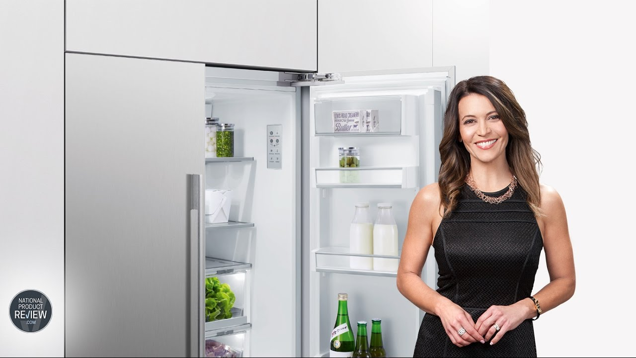 sofie explores the fisher paykel rs90au1 french door refrigerator youtube. Black Bedroom Furniture Sets. Home Design Ideas