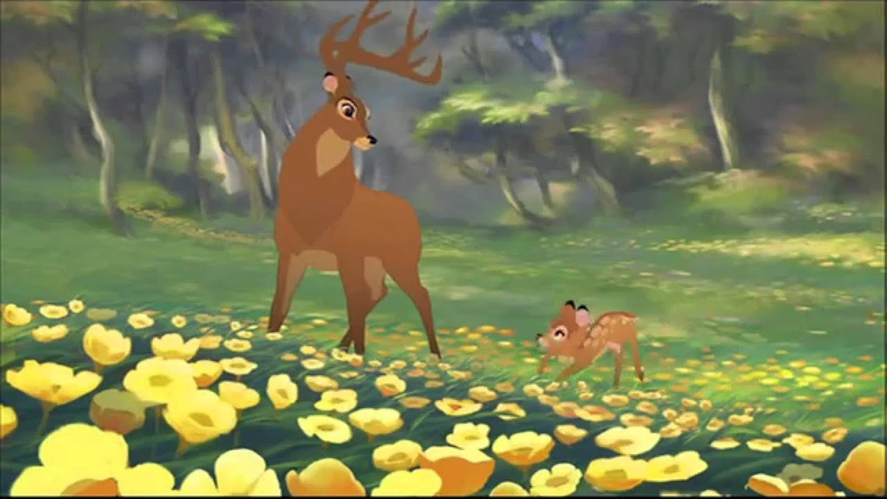 Om Animation Wallpaper Bambi 2 First Sign Of Spring Dutch Audition Youtube