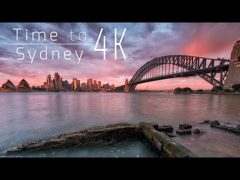 Sydney Hyperlapse in 4K