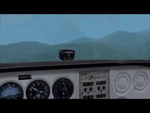 MS Flight Simulator X - VFR LZTT (Poprad) - Slovak Paradise
