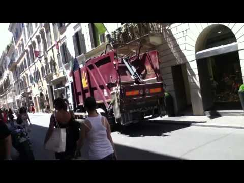 Garbage Truck Rome 7-9-11