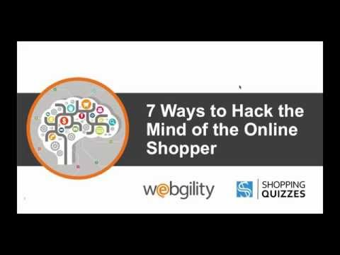 7 Ways To Hack the Mind of an Online Shopper Webinar