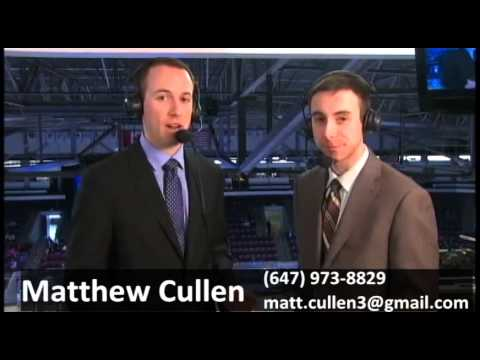MATTHEW CULLEN Play-by-Play and Colour Commentator Demo Reel