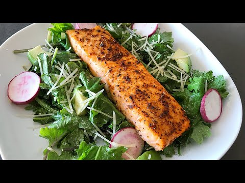 Broiled Salmon Recipe | Cooks In 8 Minutes!