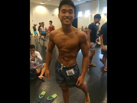 Singapore Teen Physique Competitor Peak Week 7 Days Out