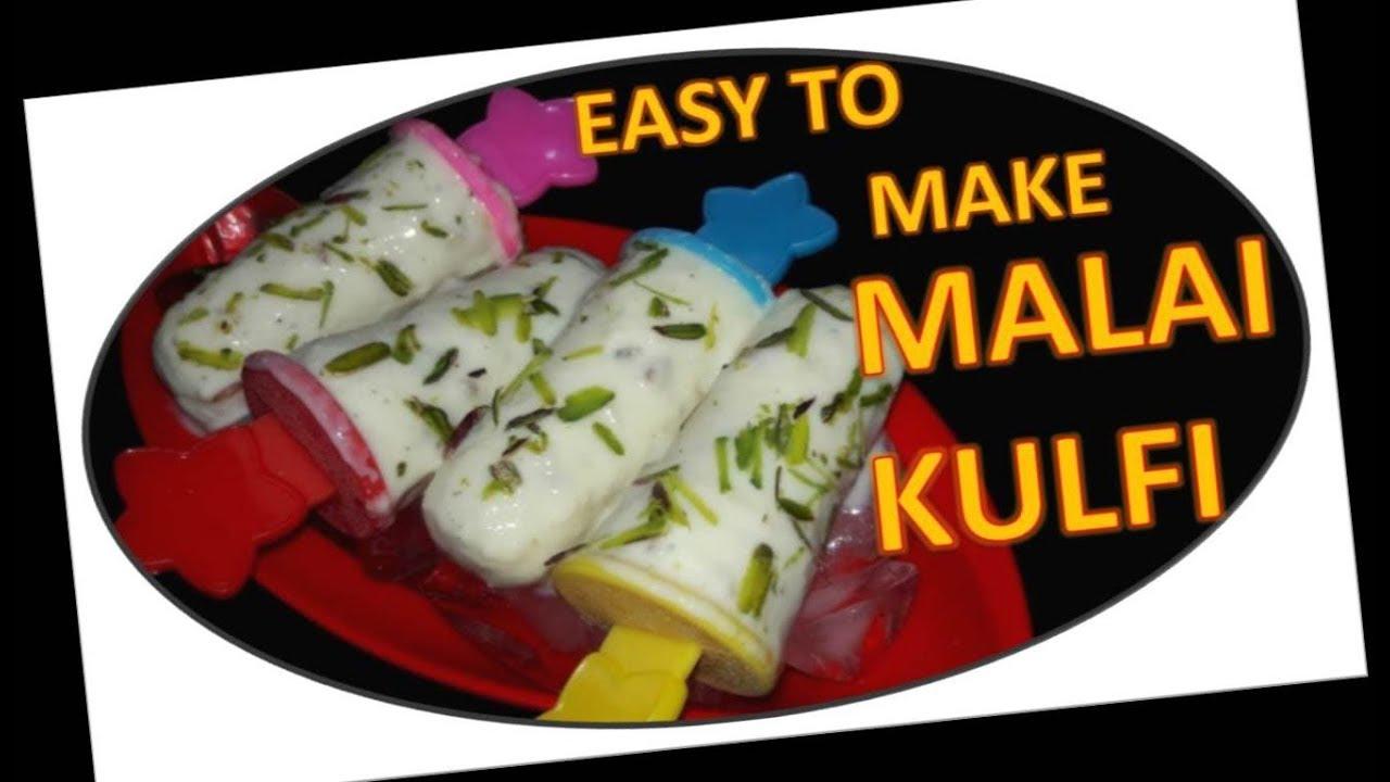 How to make malai kulfi recipe by food junction youtube how to make malai kulfi recipe by food junction forumfinder Choice Image