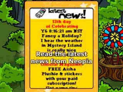 Neopets Mobile (lost features of discontinued T-Mobile service