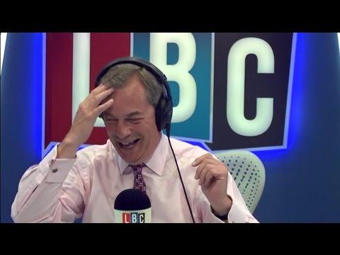The Nigel Farage Show - LBC Exclusive - Macron vs Le Pen - UKIP or The Establishment - 24/04/2017
