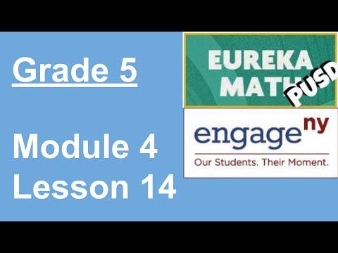 EngageNY Grade 5 Module 4 Lesson 14