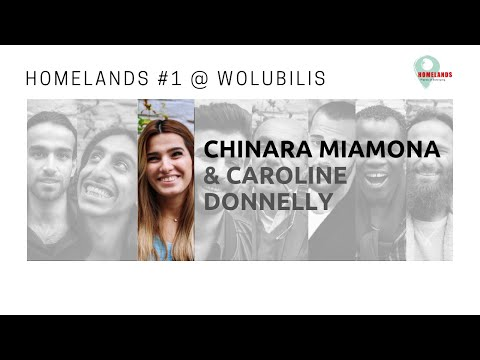 Portraits of the Homelands Project #2 > Chinara Miamona & Caroline Donnelly @ Wolubilis