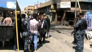 Bomb blast in Iraq wounds at least six   Video   Reuters.com.flv