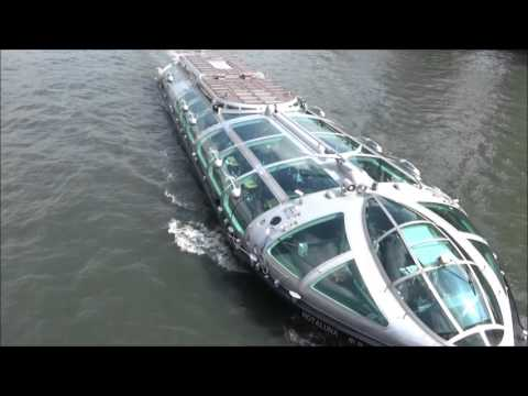 "【Tokyo Sightseeing#5】Let's cruise in Asakusa, Sumida River, Tokyo Bay by ""Tokyo Cruise"" water bus!"