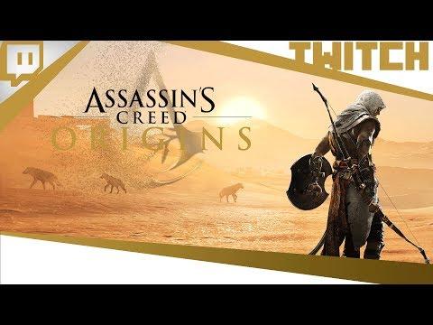 [TWITCH] - Boblennon - Assassin's Creed Origins - 31/10/17 - Partie [1/2]
