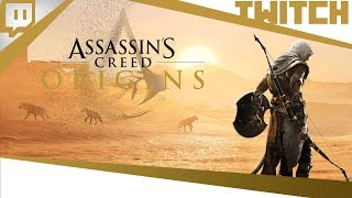 [TWITCH] - Boblennon - Assassin's Creed Origins - 31/10/17 - Partie [1/2]
