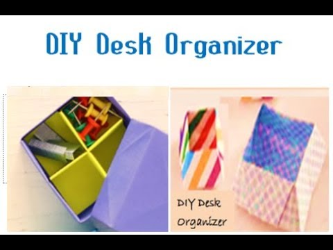 DIY Easy Desk Organizer | Easy Craft Ideas | DIY