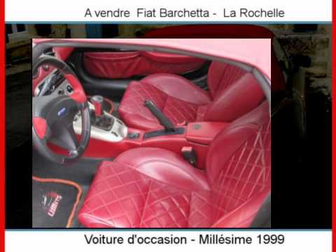 achat vente une fiat barchetta la rochelle youtube. Black Bedroom Furniture Sets. Home Design Ideas