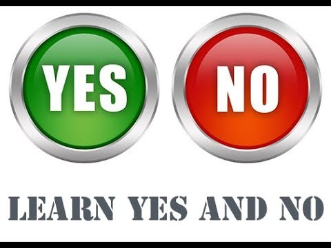 Learn Yes and No questions   Teach Yes and No questions
