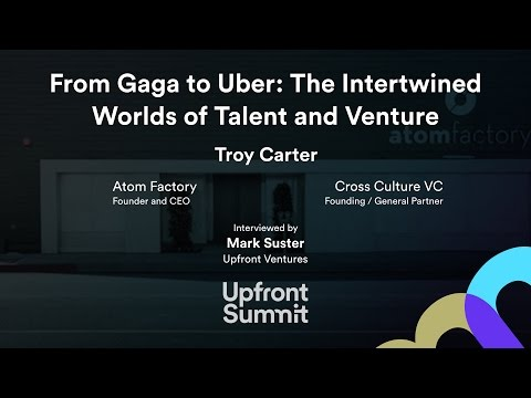 Troy Carter Interview by Mark Suster | Upfront Summit 2016 - YouTube
