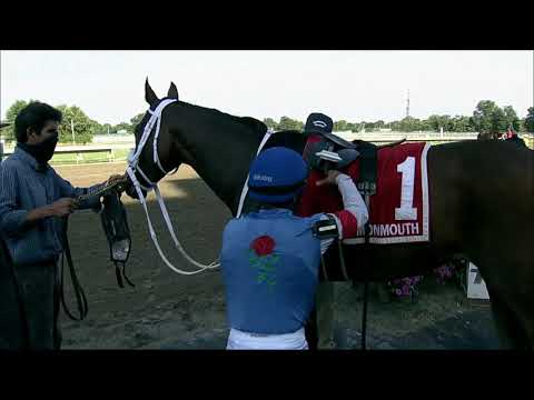 video thumbnail for MONMOUTH PARK 07-31-20 RACE 2