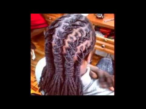 Braided Dread Hairstyles - YouTube