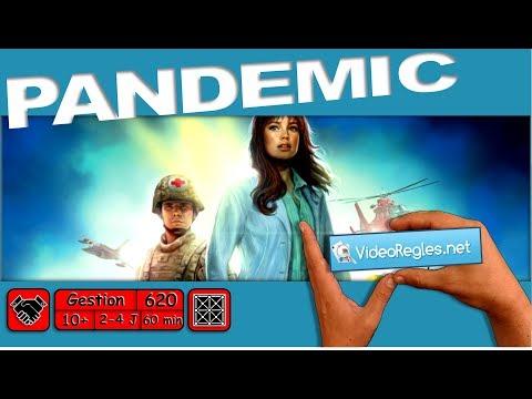 """Vidéorègle Jeu de Société """" Pandemic """" (Pandémie) par Yahndrev (#620)"""