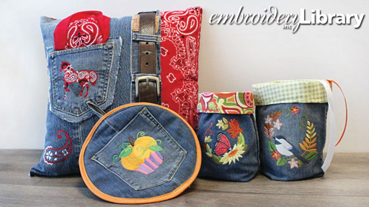 Embroidering On Denim