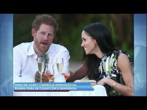 Hora da Venenosa: príncipe Harry consegue permissão da rainha para se casar com a namorada