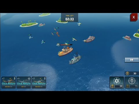 Battleship Clash : Naval Warfare (by C&L) - Strategy Game For Android And IOS - Gameplay.