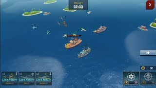 Battleship Clash : Naval Warfare (by C&L) - strategy game for android - gameplay.