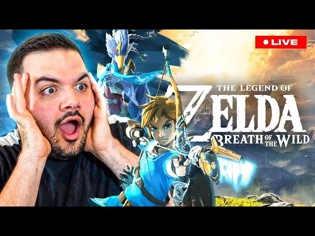 🔴MY FIRST TIME PLAYING A ZELDA GAME! FUN RELAXING SUNDAY STREAM!