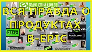 Результати і відгуки. Продукт Elev8 і Acceler8. Компанія Bepic (Бепик)