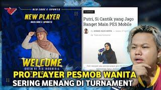 PRO PLAYER PESMOB WANITA PERTAMA ASAL INDONESIA! INI DIA INFORMASI LENGKAPNYA